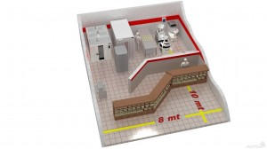 помещение и оборудование мини пекарни