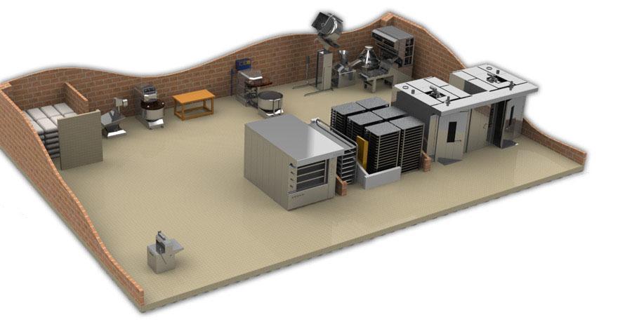 оборудование к мини пекарни